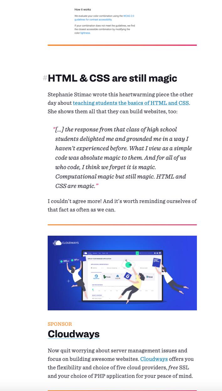 CSS-Tricks Newsletter_Cloudways