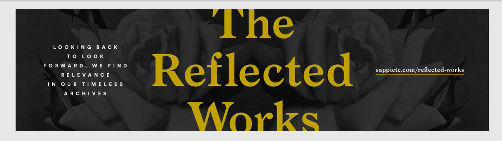 The Reflected Works ad.